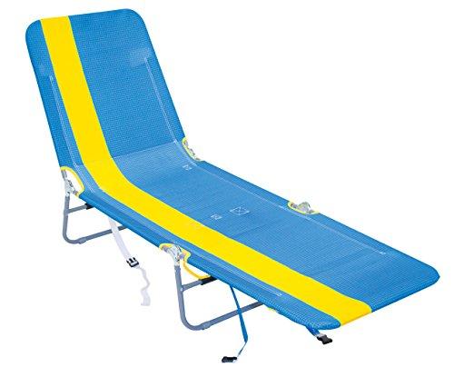 Rio Gear Rio Brands Rucksack Lounger Multi Position, ABPL-1812-1, Yellow Stripe (Rucksack Rio Stuhl)