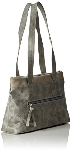 Tamaris - Khema Shoulder Bag, Borsa a spalla Donna Grau (grey Comb.)