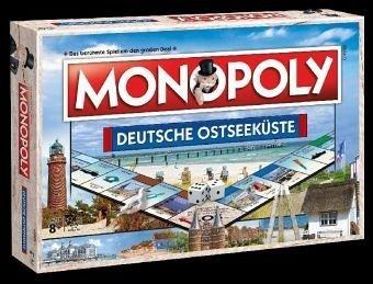 Monopoly Deutsche Ostseeküste   Regional Edition   Ostsee   Fehmarn   Mecklenburg-Vorpommern   Brettspiel   Gesellschaftsspiel