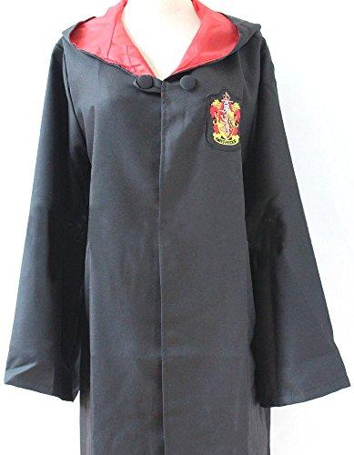 (TopschnaeppchenDSH Harry Potter Gryffindor Schulrobe Mantel Zaubermantel Umhang Größe L)
