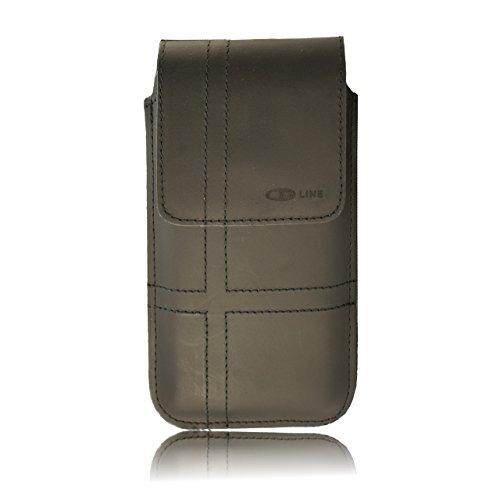 custodia verticale da cintura per iphone se