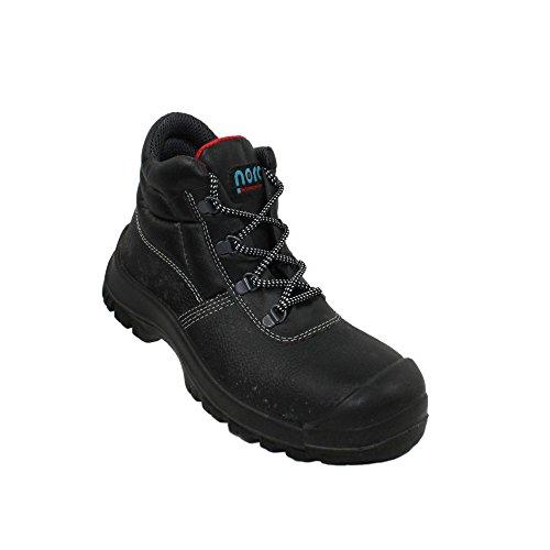 Nora clint uK s3 sRC chaussures berufsschuhe businessschuhe chaussures de trekking (noir) Noir - Noir