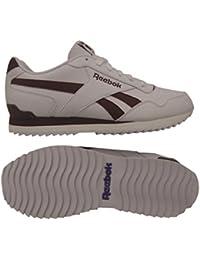 Reebok Royal Glide Rplclp, Zapatillas de Deporte para Hombre, Blanco (White/Collegiate Burgundy 000), 45 EU