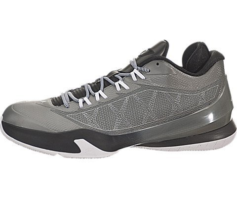 Nike Herren Jordan CP3.VIII Basketballschuhe, kühles Grau/Schwarz-Weiß, 46 EU