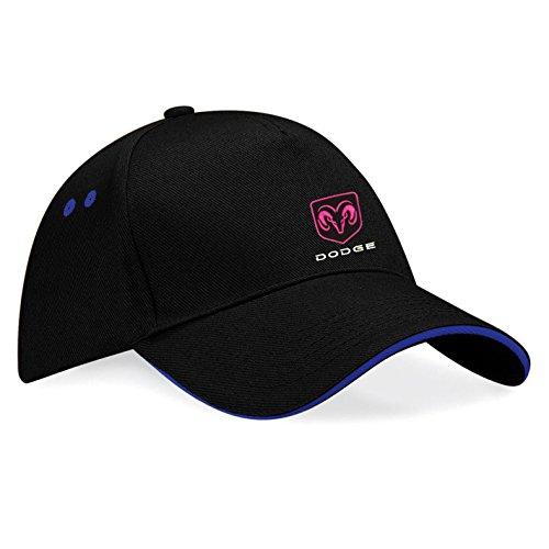 dodge-pickup-ram-bestickte-baseball-cap-muetze-k70-schwarz-blau