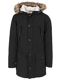 Urban classics veste pour homme sherpa lined parka