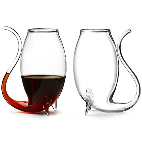 bar@drinkstuff - Vasos pipa de cristal (2 unidades)