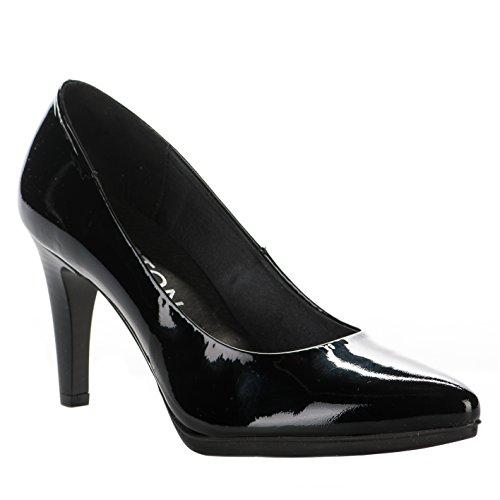 Escarpins femme - KARSTON - Noir verni - 48490403 - Millim Noir
