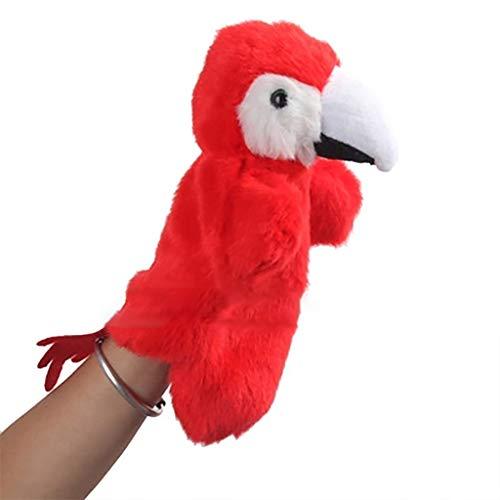 Fxikun Marionnette à Main et Marionnette à Doigt en Forme d'animaux - Peluche Doudous pour Enfant (14)