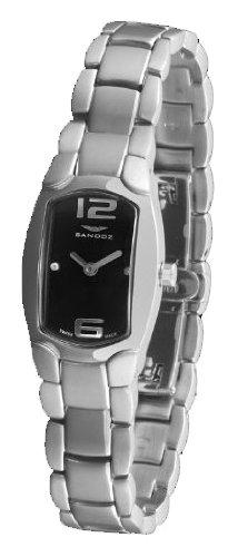 Sandoz 73508-05 – Reloj Señora Diamonds Brazalete Acero Negro