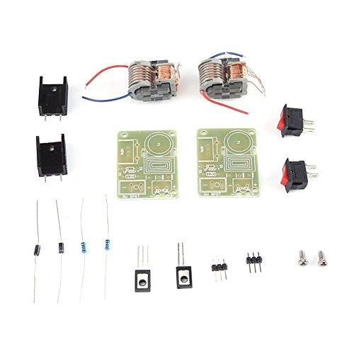 15KV Hochspannungsgenerator Boost Step-up High Power Modul Inverter Arc Zünder Spulmodul Demontiert Teile für DIY verwenden (PACK VON 2 Sätzen)