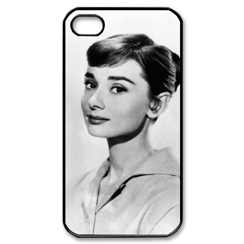 LP-LG Phone Case Of Audrey Hepburn For Iphone 4/4s [Pattern-6] Pattern-3