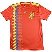 Camiseta Iniesta Réplica Oficial Selección de España. Producto Oficial Licenciado Mundial Rusia 2018. Talla