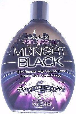 Midnight Black 100x Bronzer Dark Indoor Tanning Lotion...