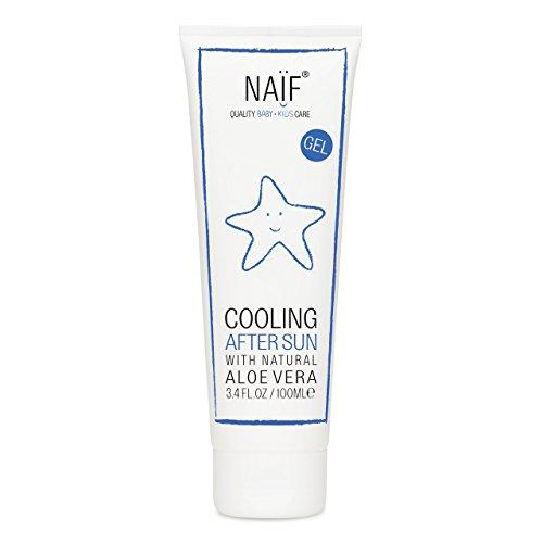 Naïf Cooling After Sun | Hipoalergénico y con perfume libre de alergias | 100 ML