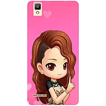 Beautiful girl - Mobile Back Case Cover For oppo f1