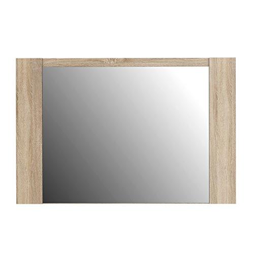 NEWFACE  Spiegel, Holz, Sonoma Eiche Dekor, 99.3 x 1.8 x 66 cm