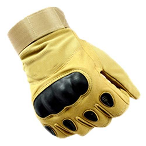 aida bz outdoor equitazione full finger gloves antiscivolo formazione anti-usura resistente ai guanti da arrampicata protettivo,yellow,xl