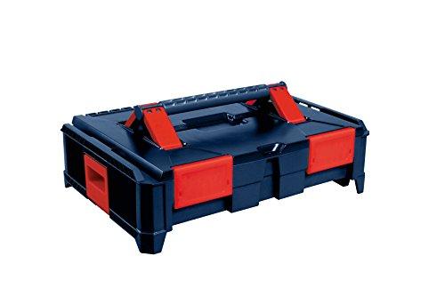 hünersdorff BoxOnBox S Werkzeugkoffer aus ABS, stapelbar, 464x335x142mm, mit Schaumeinlahe im Deckel