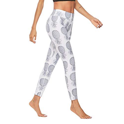 Sonnena Drucken Yogahose Damen Sport, Trainingshose Patchwork Hohlhosen Fitness-Sporthose Gym Yoga Hosen Sportliche Hosen Mädchen Leggings Leggins Hose Sexy Stretch Leggings Yoga Sport Pants
