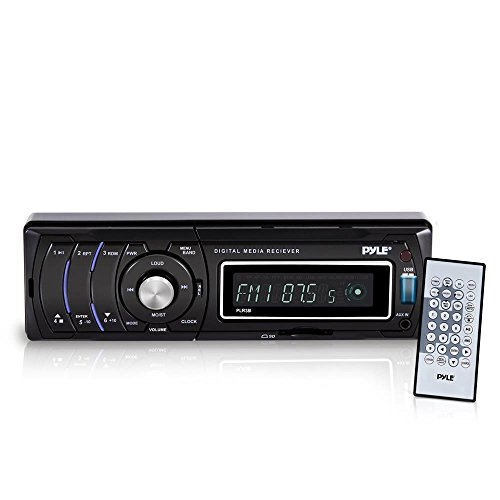 Pyle PLR38I AM/FM/MP3/WMA Detachable Face Player with USB/SD Reader and iPod Interface