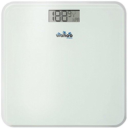 Wahoo Balance Body Scale - Bilancia Bluetooth Smart 4.0, Compatibile con iPhone 4S, iPad 3, Mini iPad e iPod Touch 5, Bianco