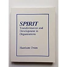 Spirit-Transformation and Development in Organizations
