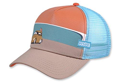 COASTAL - Surfbeetle (orange) - High Fitted Trucker Cap