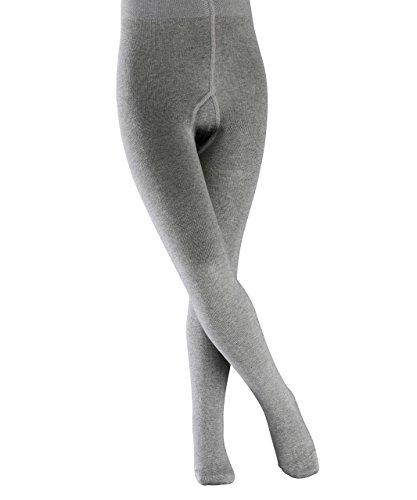 falke kinderstrumpfhosen FALKE Kinder Strumpfhosen / Leggings Family - 1 Paar, Gr. 98-104, grau, verstärkt, Baumwolle Komfortbündchen, Jungen Mädchen