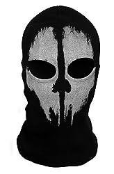3 fori Balaclava tempesta cappa MOTO tempesta maschera maschera viso Kart Nero Maschera