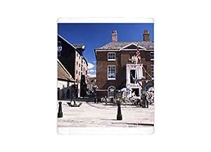 Mug Photo de l'ancienne maison des douanes, maintenant un Trottoir Cafe, Poole, Dorset, Angleterre, United