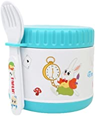 Farlin 300cc Yammy Warmer Can and Baby Food Storage Container Small (Blue)