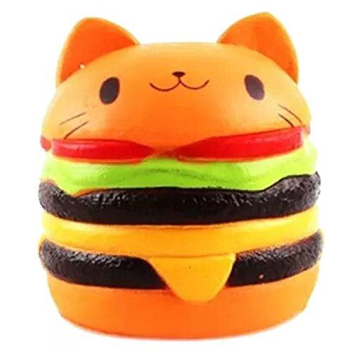 Hamburger Schlüsselanhänger Miniblings Anhänger Fastfood Cheeseburger Kawaii