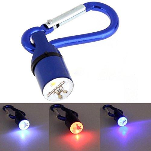 Hundehalsband Tag, 3Modus LED Blinklicht bis Anhänger Clip auf Halsband Charm Super Bright Spot wasserdicht Aluminium für Tier Katze Nacht Walking Sicherheit durch favolook -