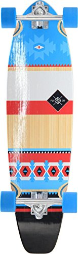 """FLYING WHEELS, Skateboard completo MOHAVE, Rosso (Rouge), 34"""""""