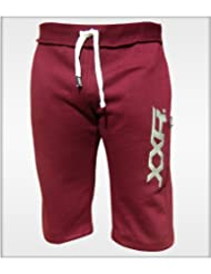 XXR Mens Fleece Shorts Jogging Bottom Joggers MMA Boxing Gym Fitness Sweat Shorts Casual Home Wear