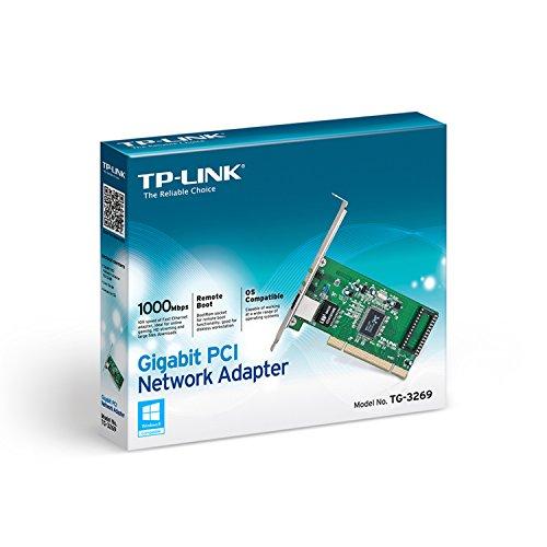 TP-Link TG-3269 Scheda di Rete PCI Gigabit, 32 Bit