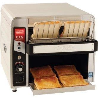 Waring Commercial Double Feed Conveyor Toaster, 2700 Watt