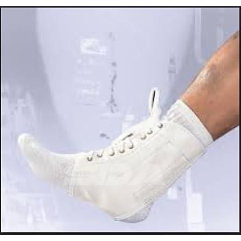 SDA Lace-up caviglia supporto e stabilizzatore con stecche a spirale