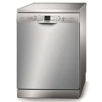 Bosch SMS53M58FF Lave-Vaisselle 9 L 44 dB Classe: A+AA Inox