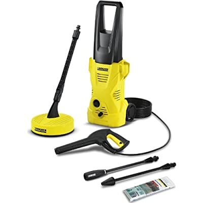 Advanced Karcher K2 Home Pressure Washer with Patio Cleaner 110 Bar 1400w 240v [Pack of 1] -- by Karcher Manufacturing UK