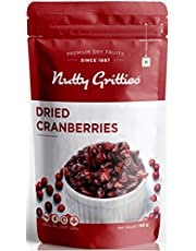 Nutty Gritties US Dried Cranberries Sliced 200g