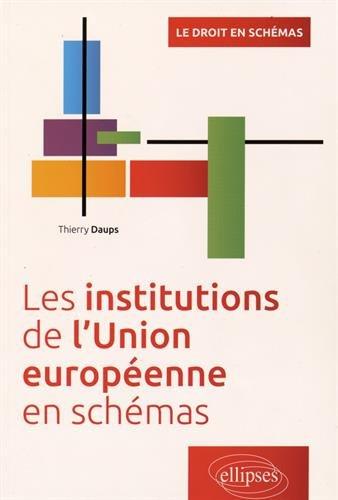 Les institutions de l'Union européenne en schémas par Thierry Daups