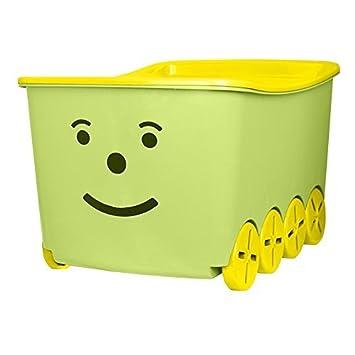 Spielzeugkiste Spielzeugbox Aufbewahrungsbox Deckel Aufbewahrungskiste Stapelbox