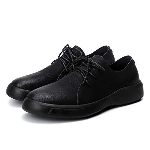 MICHAELA BLAKE Mann-beiläufige Schuh-Leder-Schnürschuhe Wohnungen Bequeme Freizeitschuhe Low Top Business-Schuhe Oxford-Schuhe Blake Oxford