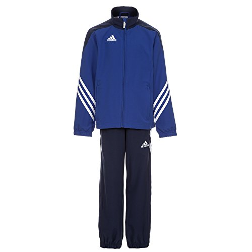 adidas Kinder Trainingsanzug Sereno 14 Top:Cobalt/New Navy/White Bottom:Dark Blue/White