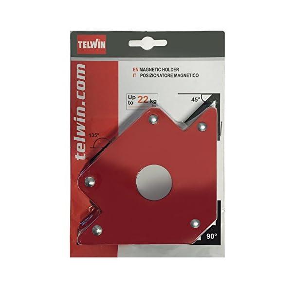 Telwin-802583-Posizionatore-Magnetico-per-Saldature-01-V-Rosso