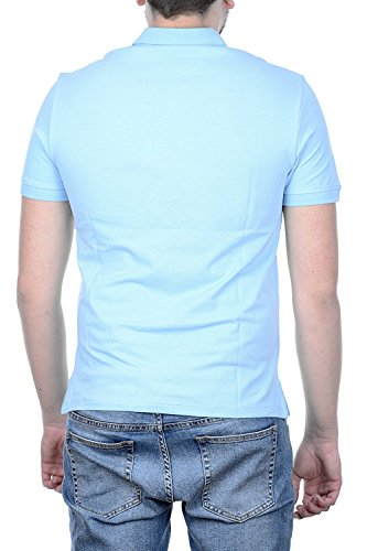 Emporio Armani, Polo Homme bleu clair