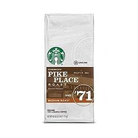 Starbucks Pike Place Roast Medium Roast Ground Coffee (40 oz / 2.5 lbs./ 1.13 kg)