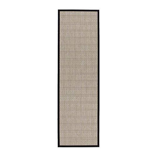 Alfombra pasillera de Polipropileno Beige árabe para decoración de 60 x 200 cm Arabia - LOLAhome